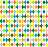 Harlequin seamless background with rhombus Stock Photo