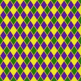 Harlequin Seamless Pattern stock photography