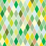Harlequin springtime background. Harlequin green springtime seamless background royalty free illustration