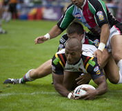 Harlequins Rugby League v Bradford Bulls stock photography