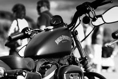 Harley 1 Royaltyfria Bilder