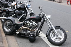 Harley Attitude Royalty Free Stock Photo