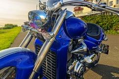 Harley chopper speed american power fast Stock Photo