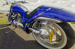 Harley chopper speed american power fast Stock Photography