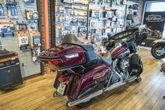 2014 Harley-Davidson, εξαιρετικά κλασική Στοκ φωτογραφία με δικαίωμα ελεύθερης χρήσης