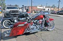 Harley-Davidson λουξ Στοκ Φωτογραφίες