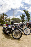 Harley-Davidson-συνήθεια Στοκ φωτογραφία με δικαίωμα ελεύθερης χρήσης