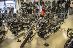2007 Harley-Davidson, συνήθεια Softail Στοκ φωτογραφία με δικαίωμα ελεύθερης χρήσης