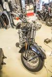 2009 Harley-Davidson, συνήθεια Softail Στοκ φωτογραφίες με δικαίωμα ελεύθερης χρήσης