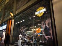 Harley Davidson存储 库存照片