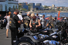 Harley-Davidson Royalty Free Stock Photos