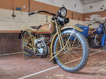 Harley Davidson 350cc kiest Cilinder (1926) uit Stock Foto