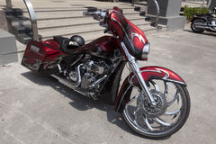 Harley-Davidson. Is an American motorcycle manufacturer. Founded in Milwaukee, Wisconsin, during the first decade of the 20th century, it was one of two major Stock Photo