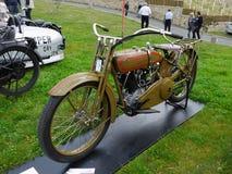 Harley Davidson, Antique Motorcycle  Royalty Free Stock Image
