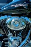 Harley Davidson Bewegungsnahaufnahme Lizenzfreies Stockbild