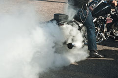 Harley Davidson-Brand Lizenzfreie Stockfotos