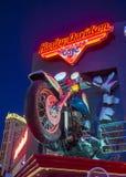 Harley Davidson Cafe Royalty-vrije Stock Foto