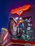 Harley Davidson Cafe Stock Afbeelding
