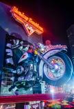 Harley Davidson Cafe Stock Foto