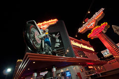 The Harley-Davidson Cafe in Las Vegas Stock Photography