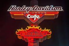 Harley Davidson Cafe Stock Photography