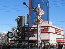 Harley Davidson Cafe, Las Vegas, Nevada foto de archivo