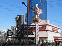 Harley Davidson Cafe, Las Vegas, Nevada Stock Photo