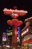 Harley Davidson Cafe in Las Vegas, NV on May 18, 2013 Stock Photography