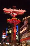 Harley Davidson Cafe in Las Vegas, NV op 18 Mei, 2013 stock fotografie