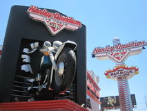 Harley Davidson cafe in Las Vegas Stock Photography