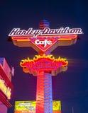 Harley Davidson Cafe Royalty Free Stock Photos