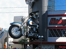 Harley Davidson Cafe motorcycle, Las Vegas, Nevada Royalty Free Stock Photo