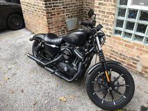 Harley-Davidson caldo Fotografia Stock Libera da Diritti