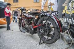 1927 Harley Davidson, 1000 cc Fotografering för Bildbyråer