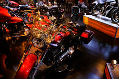 Harley-Davidson on CDMS 2012 Royalty Free Stock Images
