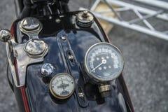 1927 Harley Davidson, 1000 centímetros cúbicos Imagem de Stock