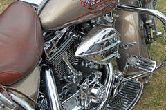 Harley davidson chrome parts Stock Photography