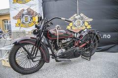 1927 Harley Davidson, 1000 cm Stockfotografie