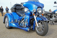 Harley Davidson cvo 1800 motocykl Zdjęcia Royalty Free