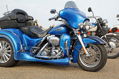Harley davidson cvo 1800 motorbike Royalty Free Stock Image
