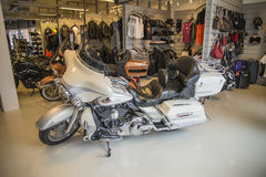 2008 Harley-Davidson, CVO ultra classico Fotografie Stock Libere da Diritti