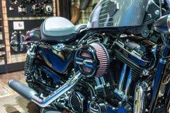 Harley Davidson Czterdzieści osiem przy 37th Bangkok Międzynarodowym Motorowym przedstawieniem fotografia stock