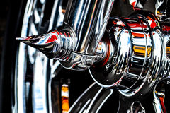 Harley Davidson, détail Photographie stock