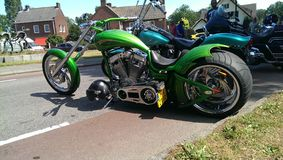 Harley Davidson. Day Royalty Free Stock Photo