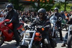 Harley Davidson Days in Hamburg, Deutschland stockbild