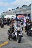 Harley Davidson Days in Hamburg, Germany Stock Photography