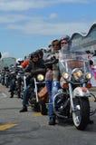 Harley Davidson Days in Hamburg, Germany Stock Image
