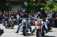 Harley Davidson Days in Hamburg, Germany Royalty Free Stock Photography