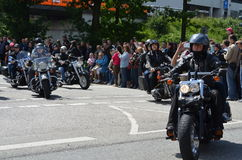 Harley Davidson Days in Hamburg, Germany Stock Photos