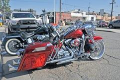 Harley-Davidson Deluxe Stockfotos